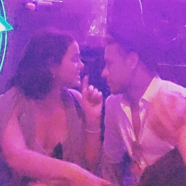 Bruna Marquezine e Neymar no casamento de Marina Ruy Barbosa (Foto: Instagram/Reprodução)