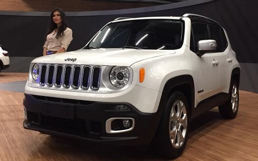 Jeep Renegade Com Motor 1 8 Mais Potente E Start Stop Parte De R