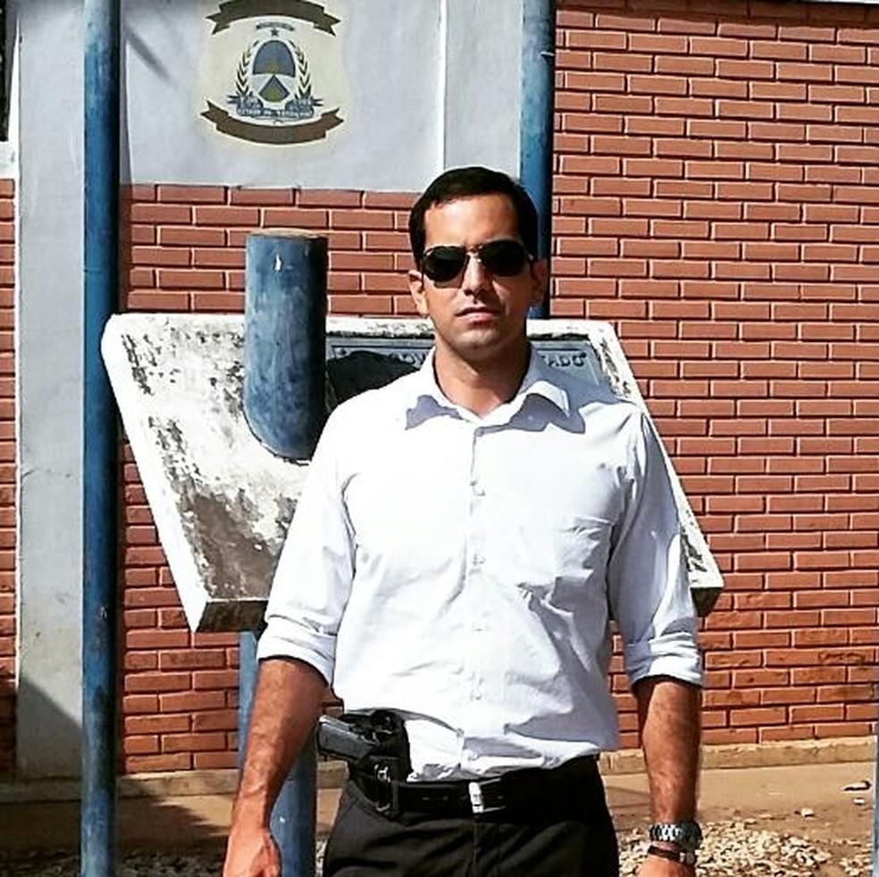 Delegado de Araguaína morre em acidente na BR-153 — Foto: Arquivo Pessoal