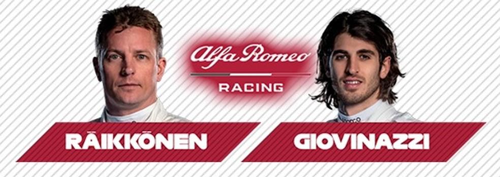 Alfa Romeo 2021 — Foto: Reprodução/FOM