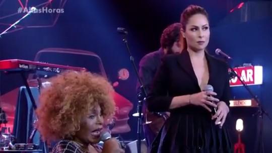 Elza Soares canta com Pitty e relembra início de carreira: 'Sofri muito para chegar onde cheguei'