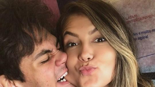 Lucas Veloso revela que a mãe aprovou namoro com Nathália Melo: 'Mainha gosta mais dela do que de mim'