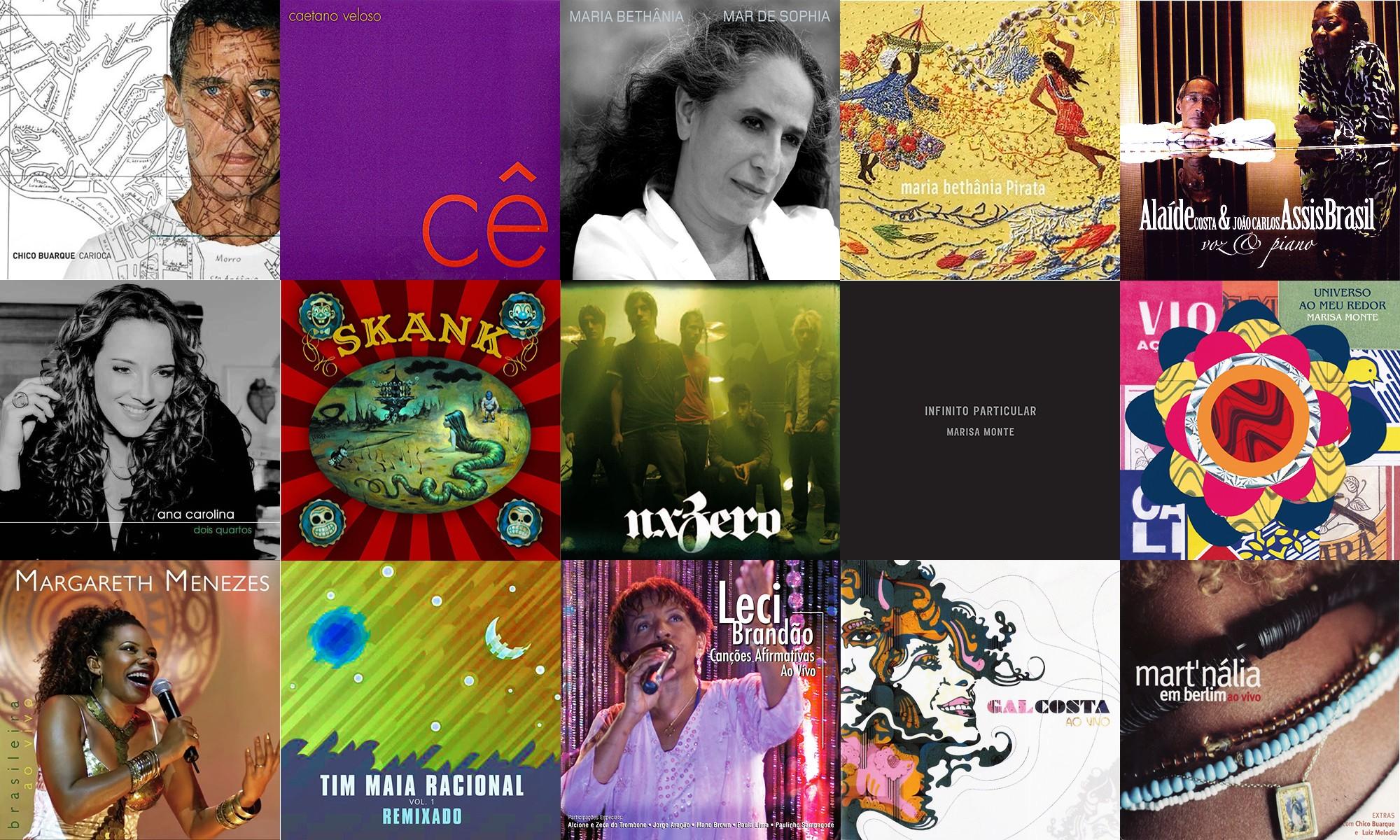 Eis 15 álbuns brasileiros que, como o G1, chegaram ao mundo em 2006, há 15 anos