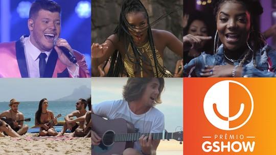 Prêmio Gshow 2018: ouça as músicas que concorrem na categoria 'Hino do Ano'