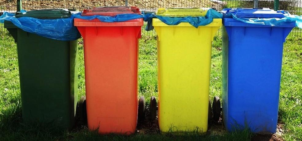 Materiais recicláveis devem ser separados para a coleta seletiva (Foto: Pixabay/Divulgação)