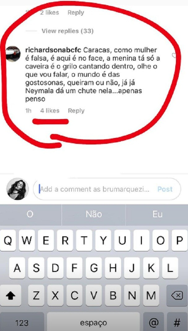 Bruna Marquezine (Foto: Instagram/Reprodução)
