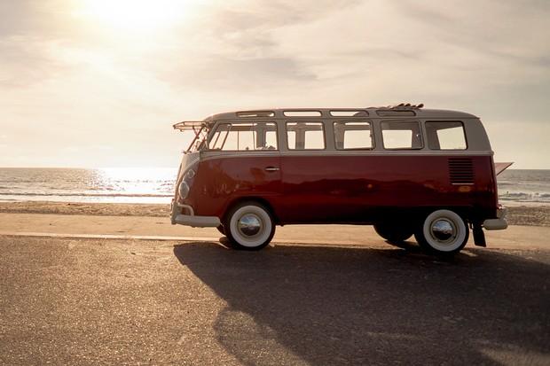 Dirigimos uma Volkswagen Kombi 1967 elétrica na Califórnia (Foto: Ricardo Sant'Anna / Autoesporte)