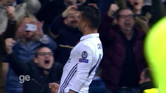Chutaço de Casemiro concorre a gol mais bonito da rodada da Champions
