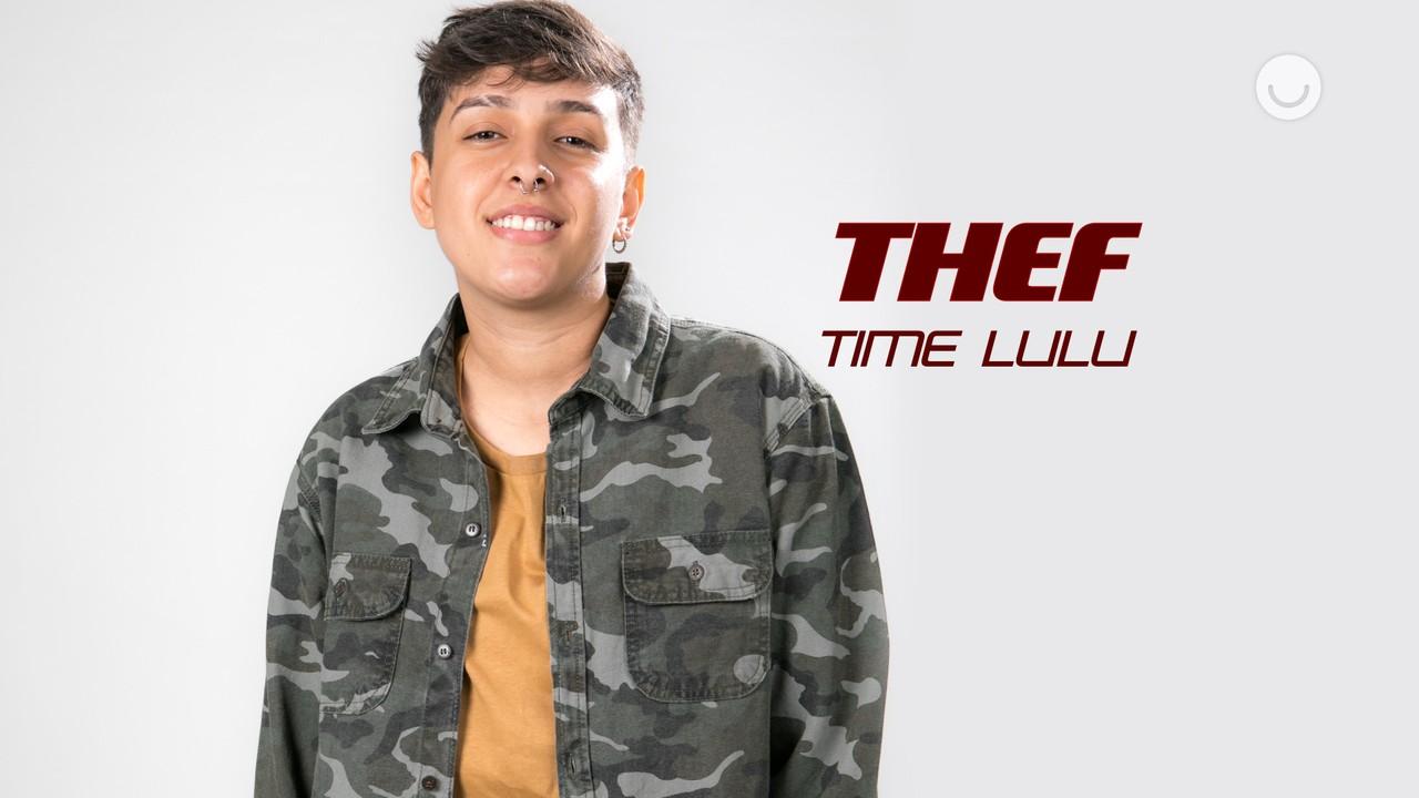Conheça a participante Thef, do Time Lulu