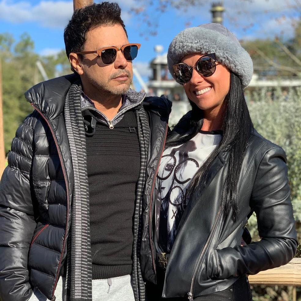 Zezé di Camargo e Graciele Lacerda estão nos preparativos para o casamento â?? Foto: Reprodução/Internet