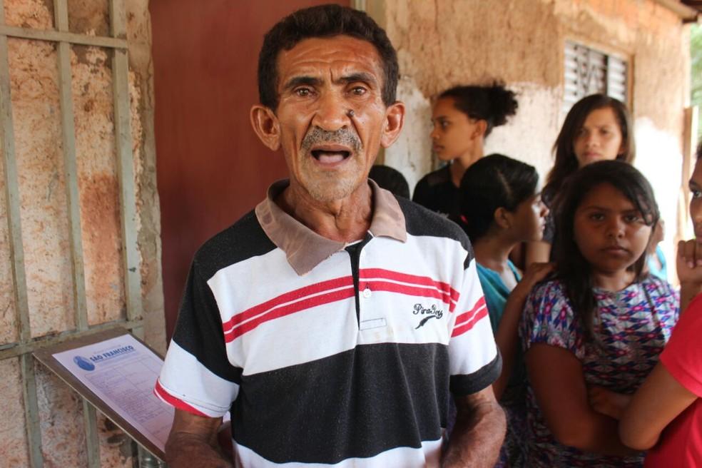 Avô do menino estava com a criança no momento (Foto: José Marcelo/G1)