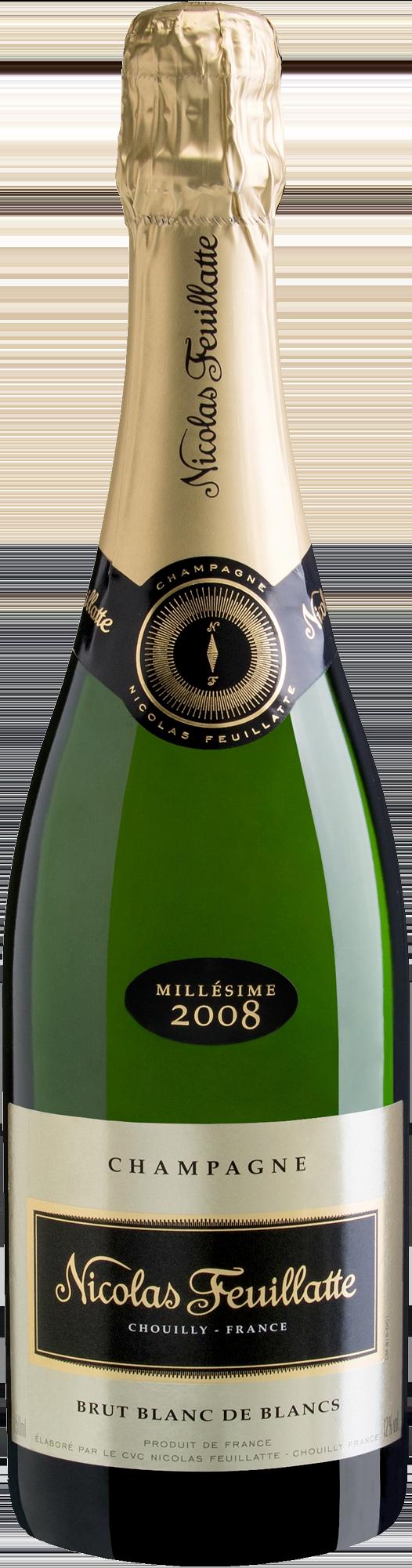 Champagne Nicolas Feuillatte Blanc de Blancs (Foto: Divulgação)