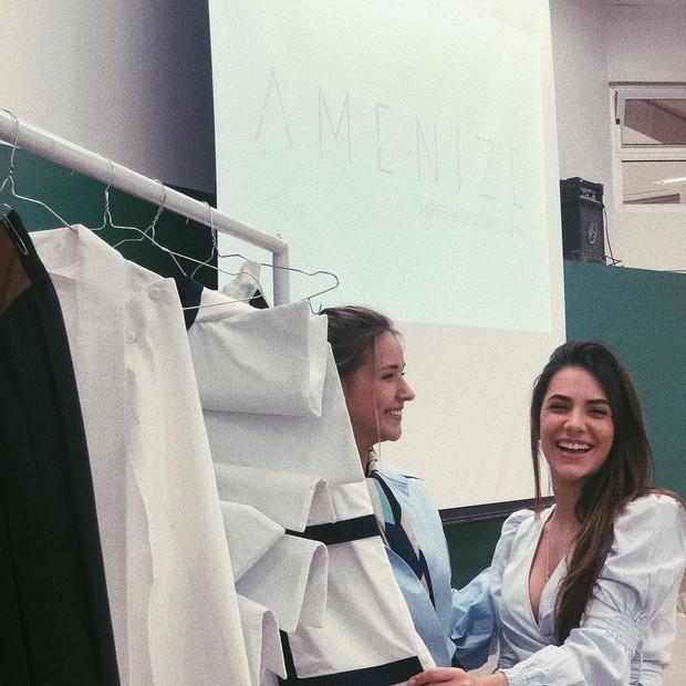 Gabriela Romagna e Jade Magalhães (Foto: Reprodução Instagram)