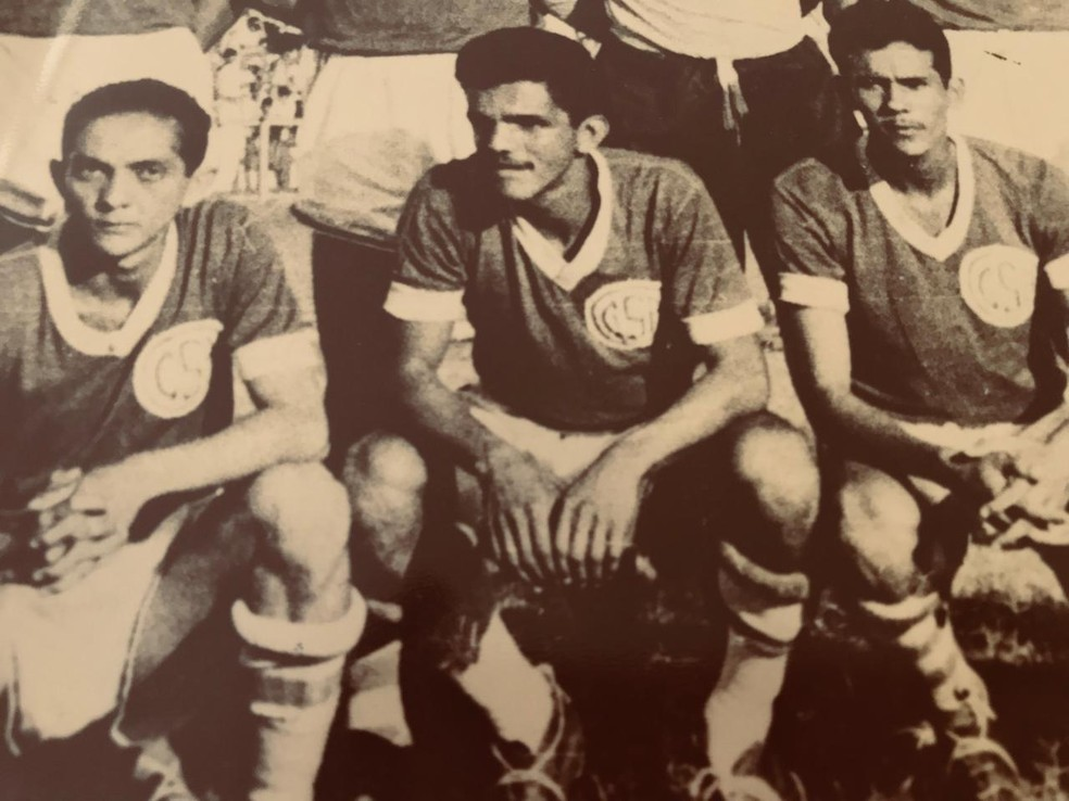 Dida no CSA: o início da história — Foto: Arquivo Museu do Esporte
