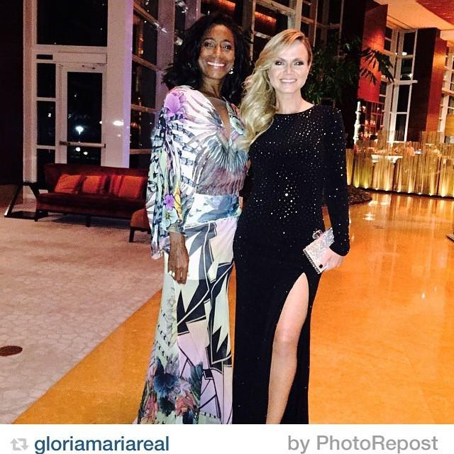 Glória Maria e Eliana (Foto: Reprodução/Instagram)