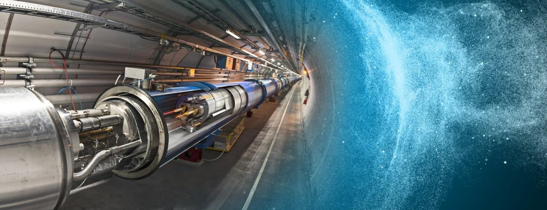 O acelerador de partículas LHC. (Foto: CERN)