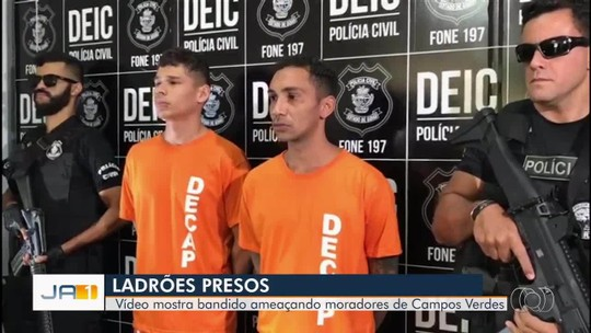 Polícia prende trio suspeito de assaltar joalheria em shopping de Goiânia