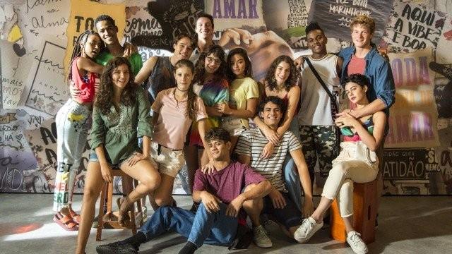 Elenco de 'Malhação': Toda forma de amar' (Foto: TV Globo)