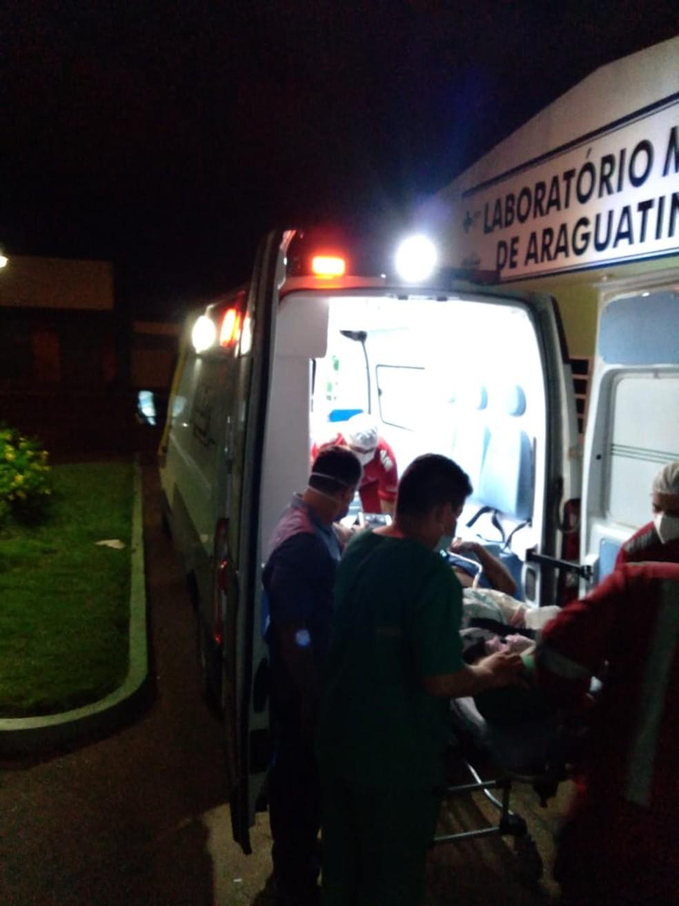 O cadeirante chegou a ir numa ambulância até o Maranhão — Foto: Arquivo Pessoal