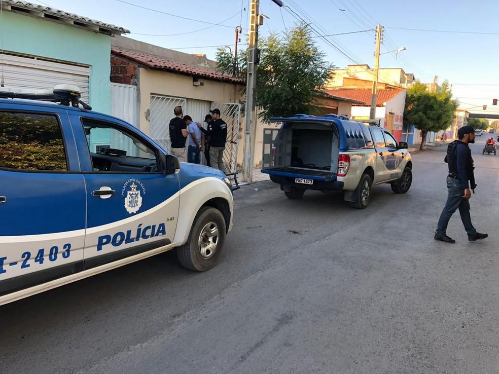 Caso aconteceu na cidade de Bom Jesus da Lapa — Foto: Divulgação/SSP-BA