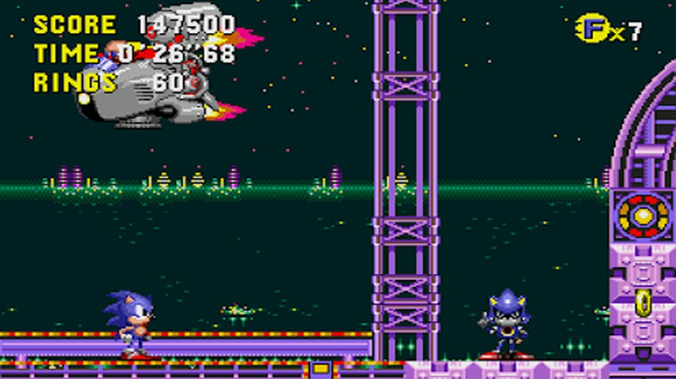 Sonic CD é considerado por muitos fãs como a versão definitiva dos games do ouriço — Foto: Reprodução/Google Play