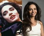 Claudia Ohana em 'Vamp' e atualmente | Geraldo Modesto e Estevam Avellar/ TV Globo