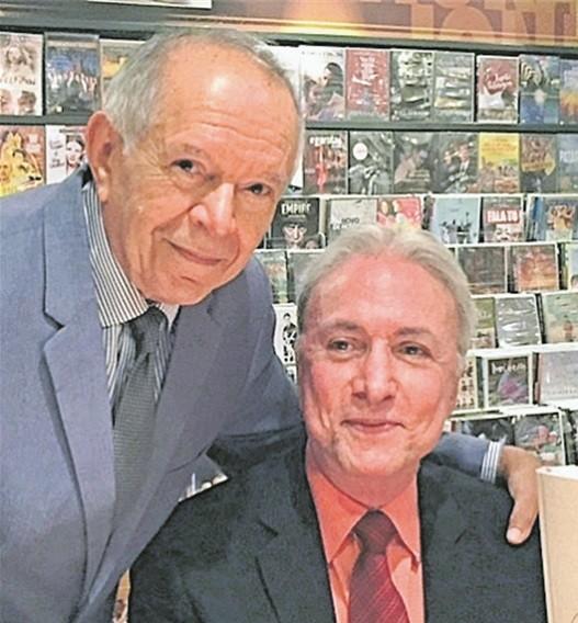 Antonio Torres e Antonio Carlos Secchin
