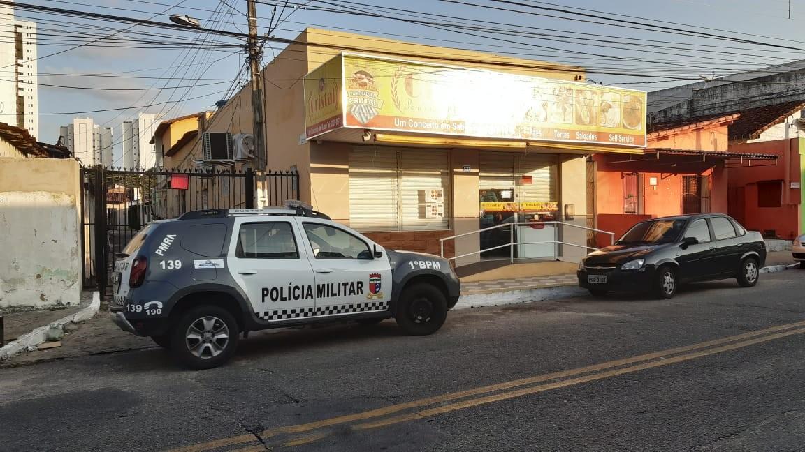 Sargento do Exército é baleado em assalto à padaria na Zona Leste de Natal; veja vídeo