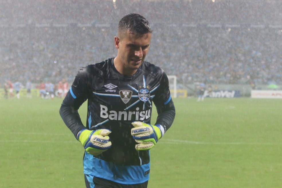 Marcelo Grohe é um dos exemplos que viveram altos e baixos no Grêmio (Foto: Diego Guichard)