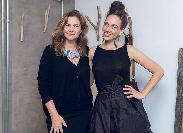 Paula Ferber e Mana Bernardes (Foto: Divulgação)
