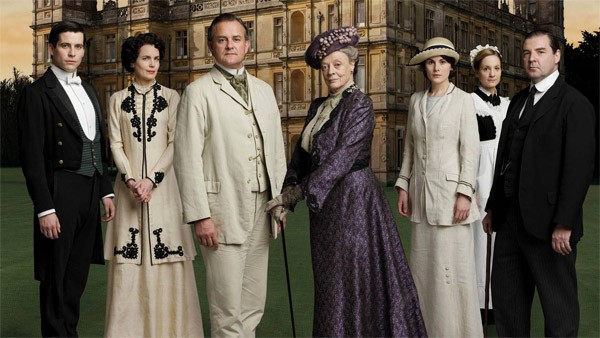 Parte do elenco de 'Downton Abbey' (Foto: Divulgação)