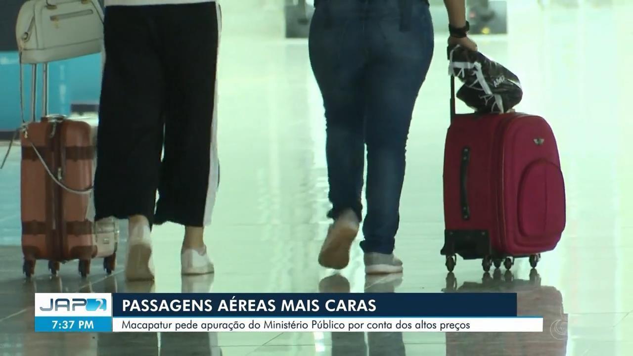 Macapá pede apuração do MP em função de cobrança de altos preços nas passagens aéreas