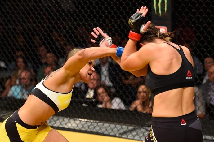 Amanda Nunes, Miesha Tate, UFC 200, MMA (Foto: Getty Images)