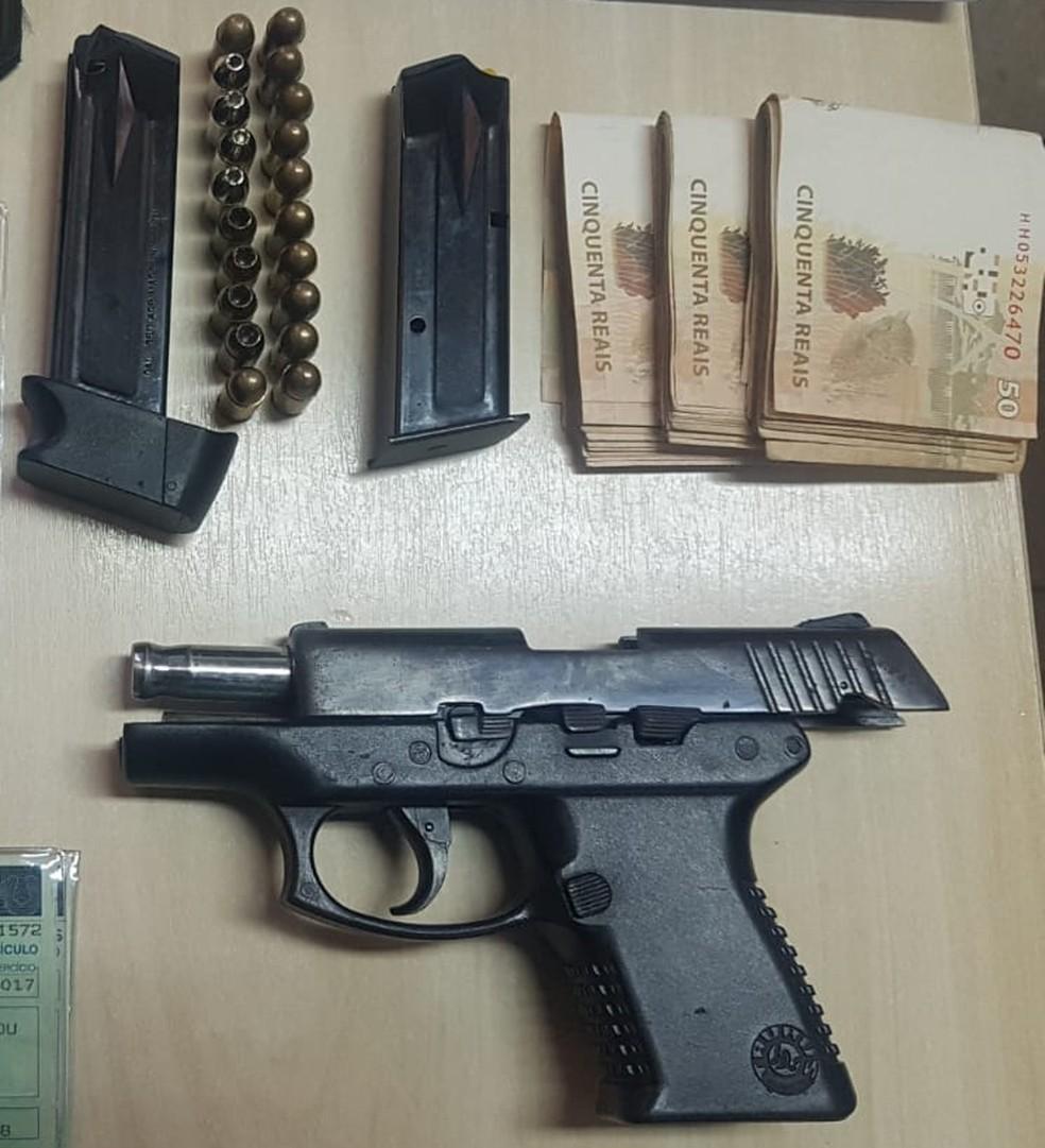 arinelson - Ex-jogador do Santos e Flamengo é preso por porte ilegal de arma de fogo em Belém