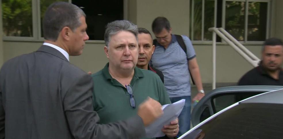 Ex-governador Anthony garotinho é preso — Foto: Reprodução / TV Globo