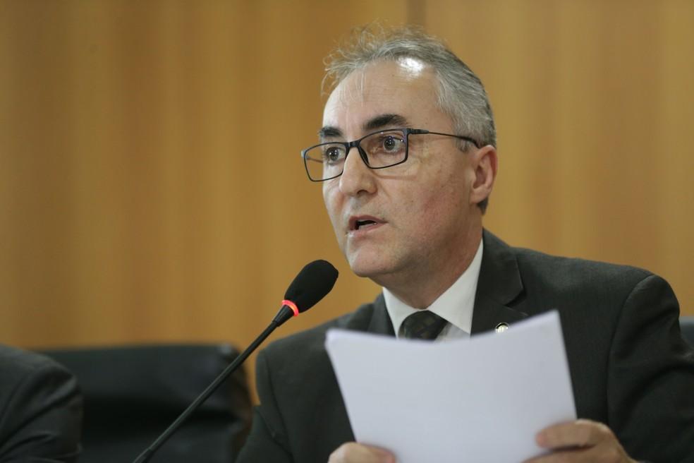 O futuro secretário-executivo do Ministério da Justiça, delegado Luiz Pontel — Foto: Fabio Rodrigues Pozzebom, Agência Brasil