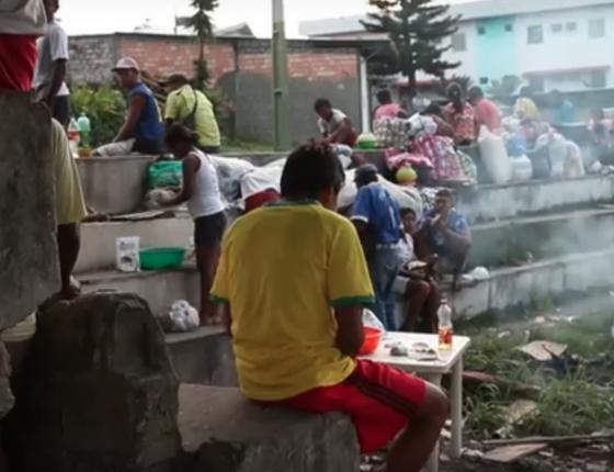 Venezuelanos em Roraima (Foto: Reprodução)