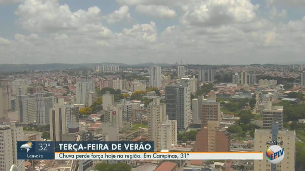 Confira a previsão do tempo na região de Campinas