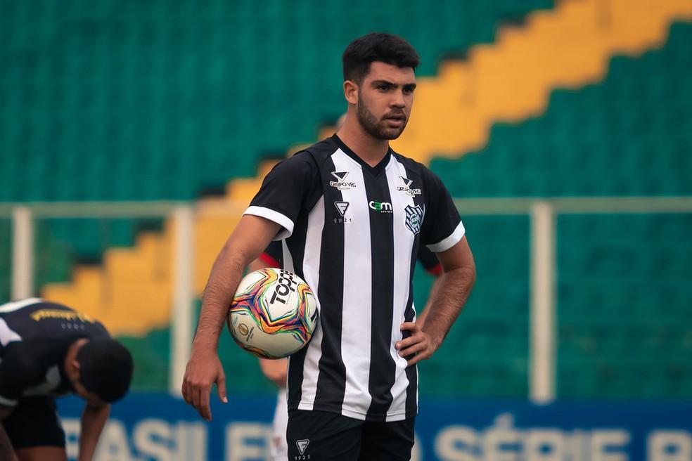 Dudu disputou a Série B pelo Figueirense — Foto: Patrick Floriani/FFC