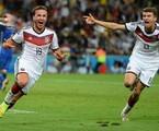 Goetze dá a vitória para a Alemanha | Reprodução da internet