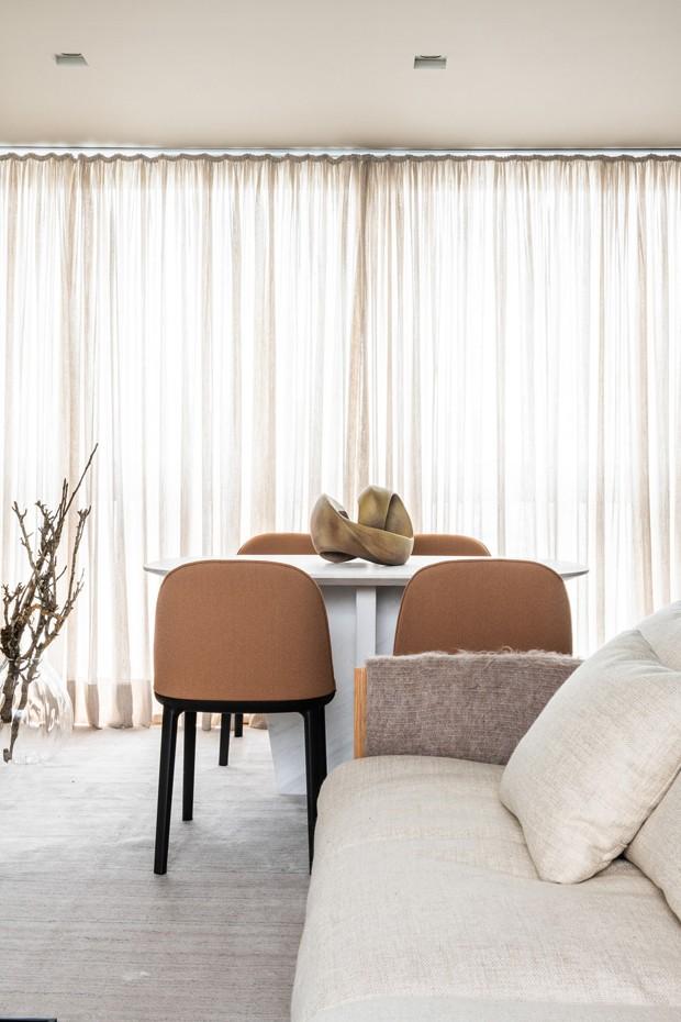Apartamento de 52 m² tem cozinha invisível (Foto: divulgação)