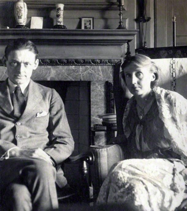 O casal de intelectuais Virginia e Leonard Woolf (Foto: Wikicommus)