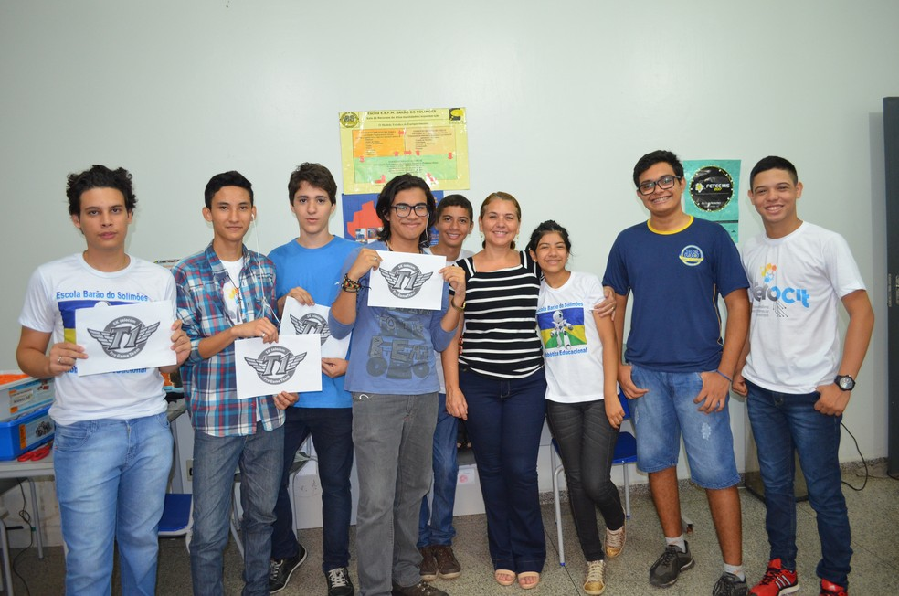 Estudantes estão ansiosos para participar da competição de robótica que será realizada na II edição do Infoparty (Foto: Hosana Morais/G1)
