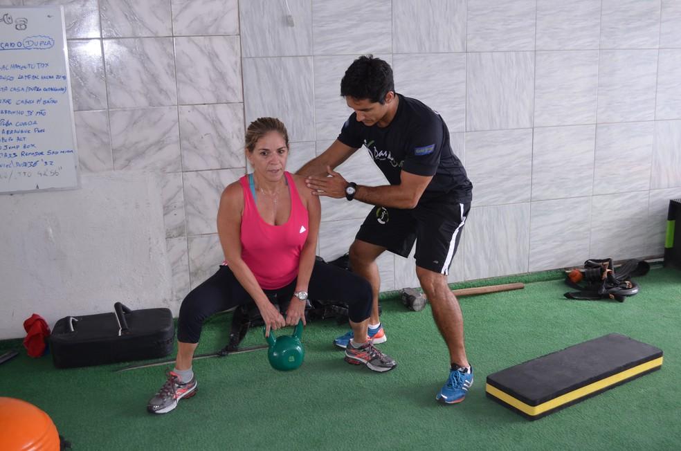 Prática esportiva modula o humor, melhora as ondas de calor e ajuda a manter o peso ideal — Foto: Amauri de Aquino / Globoesporte.com/pb