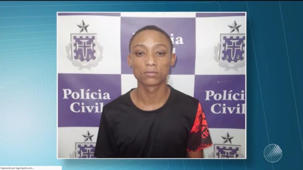 Suspeito se entrou dois meses após fuga de presídio  (Foto: Reprodução/TV Subaé)