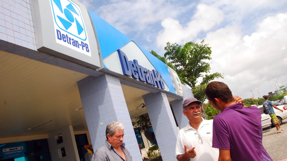 Em João Pessoa, fiscalização ocorrerá na sede do Detran-PB, no bairro de Mangabeira — Foto: Rizemberg Felipe/Jornal da Paraíba
