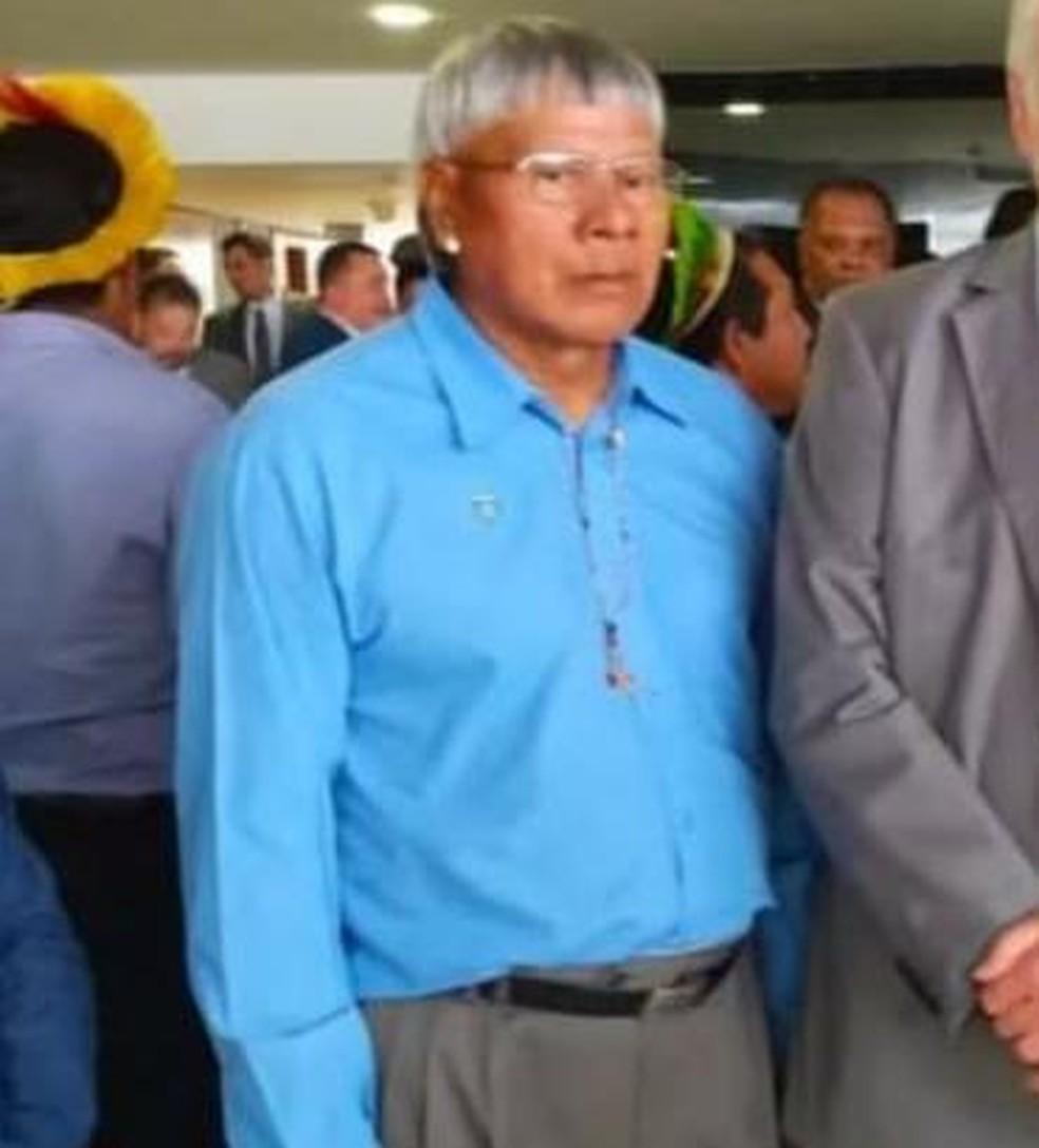 Cacique Domingos Maharo morreu por Covid-19 — Foto: Divulgação