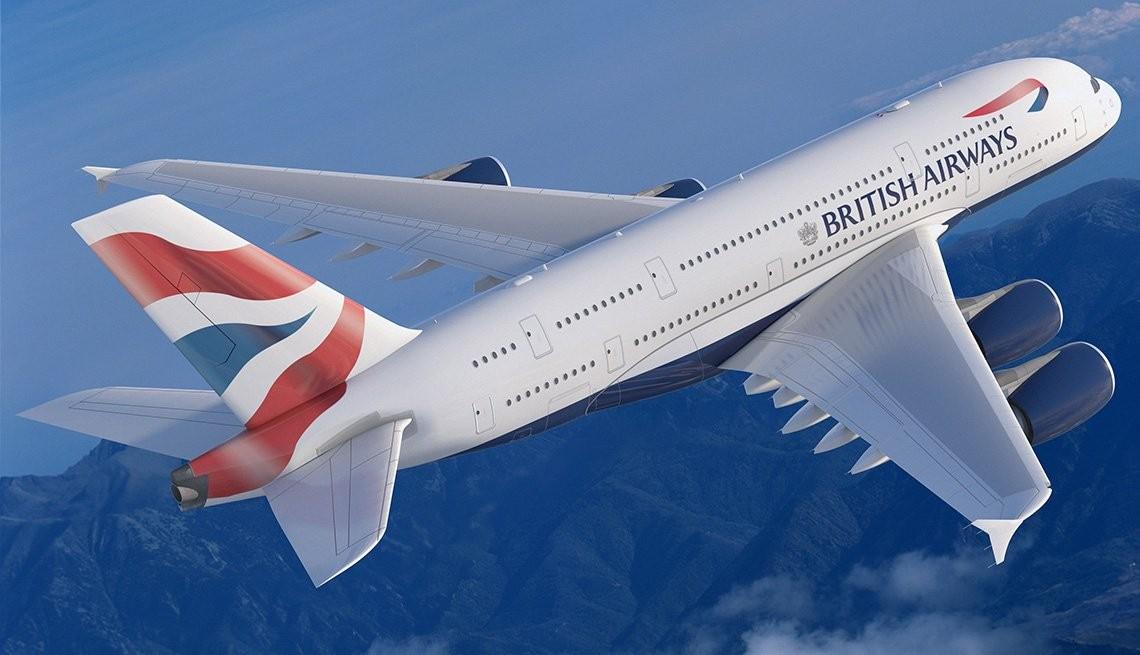 Avião da British Airways (Foto: Divulgação)