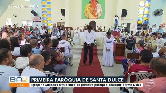 Bairro do Saboeiro, em Salvador, ganha a 1ª paróquia dedicada a Santa Dulce dos Pobres