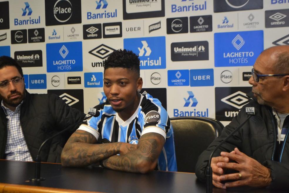 Marinho Grêmio (Foto: Eduardo Moura)